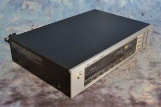 fisher fm 660 digital am fm stereo radio tuner 1873
