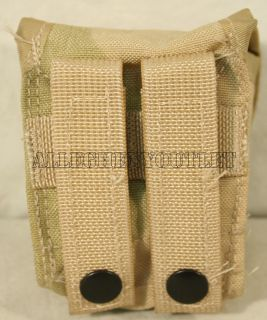 Military Army MOLLE II HAND GRENADE POUCH Ammo Desert 3 Color NICE