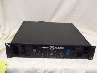 crest audio ca9 power amplifier ca 9 amp