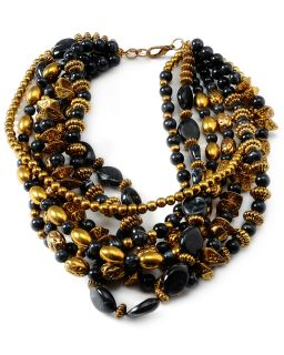 amrita singh chalchi plated resin necklace $ 250 00 $