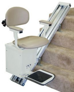 Ameriglide AC Deluxe Stair Lift Used