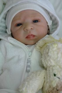 FRN So Real Gorgeous Reborn Baby Boy Jamie by Olga Auer