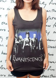 Evanescence Amy Lee Rock Roll Pop Art O Women T Shirt Dress Tank Top
