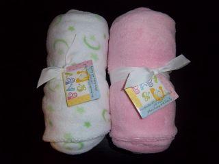 Minky Plush New Baby Crib Sheet White Green Pink Boy Girl Toddler Bed