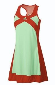 Adizero Tennis Dress Super Green Core Energy Small S Ana Ivanovic