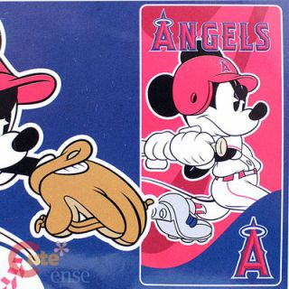 MLB Anaheim Angels Beach Bath Towel Mickey Mouse Player