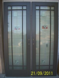 Vinyl Patio Door Operating Panel For A 6 Ft Door 34 1 2