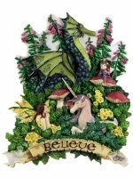 Amy Brown Believe Plaque Fairy Statue Figurine Faery