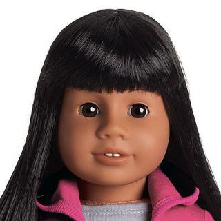 My American Girl Asian JLY Doll Book Black Hair Brown Eyes New