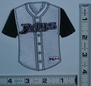 Tampa Bay Rays MLB Baseball 4 Jersey Team Tampa Bay Devil Rays Patch