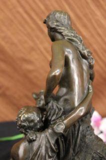 Ancient Roman Bronze Statue of Zeus Jupiter Poseidon Mythology
