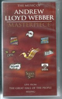 Andrew Lloyd Webber Masterpiece Beijing Music VHS Video PAL