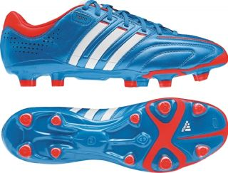 Adidas adiPURE 11Pro TRX FG Soccer Cleat Leather Bright Blue Infrared
