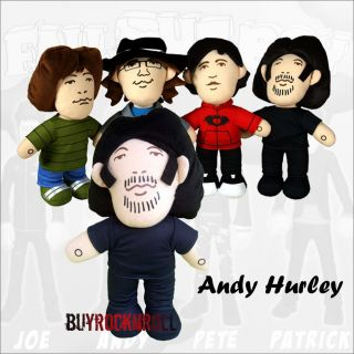 Boy 12 Talking Plush Doll Andy Hurley New Andrew Figure Fob