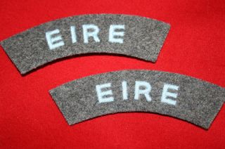 Eire Ireland Royal Air Force WW2 RAF Cloth Titles
