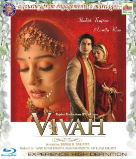 Vivah Sahid Kapoor Amrita Rao Bollywood Movie Region Free Bluray