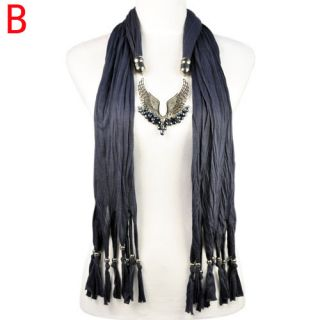 Angel Wings Charms Jewelry Scarf Winter Woman Scarf 5 Colors Fashion