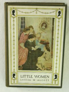 Louisa M Alcott Little Women Illustrated Little Brown Company C 1923