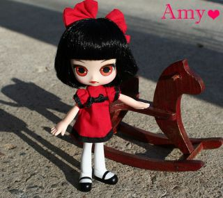 Angel DAL Amy Gothic Black Red Dress Doll Jun Planning