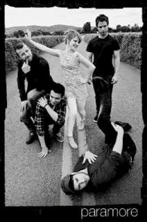Music Poster Paramore So Funny Group Hayley Williams