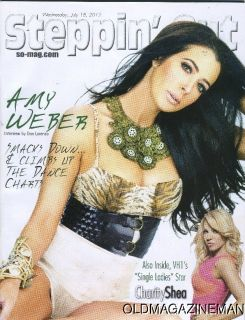 Amy Weber Steppin Out Magazine July 2012