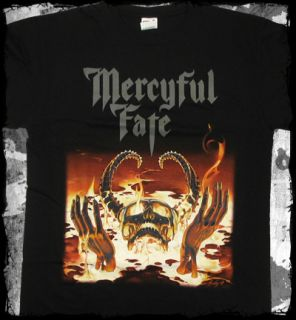 Mercyful Fate 9 Album Cover King Diamond Official T Shirt Fast