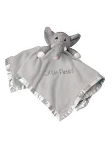 Moments Gray Elephant Little Peanut ~ Jesus Loves Me Security Blanket