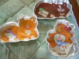 Animal Shaped Cake Pans Set Of