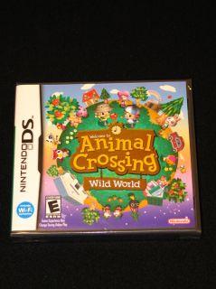 NEW  Animal Crossing Wild World Nintendo DS Lite DSi XL
