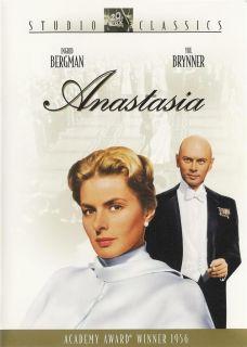 Anastasia Ingrid Bergman Yul Brynner DVD 024543060918