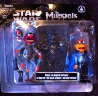 Disney Star Wars Muppets Animal Link Hogthrob Scooter Collectible