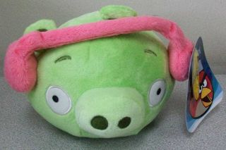 ANGRY BIRDS WINTER HAT PLUSH PIG LIMITED EDITION NEW WITH TAGS