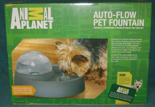 Animal Planet Auto Flow Pet Fountain for Cat Dog