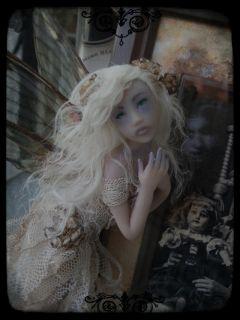OOAK Ghost Fairy Faerie Witw Iadr Whispers in The Woods Deborah McCain