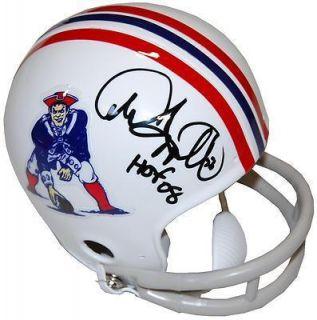 Andre Tippett HOF 08 New England Patriots Signed Mini Helmet COA (PSA