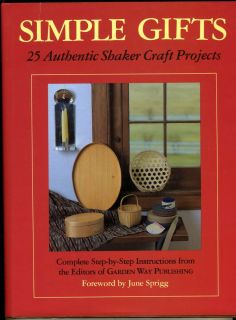 Authentic Shaker Craft Projects Simple Gifts 0882665812