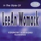 Lee Ann Womack I Hope You Dance Classic Country Karaoke CDG CD Disc