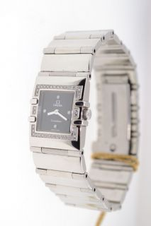 Omega Constellation Anna Kournikova Lady Diamonds Watch Steel Quartz
