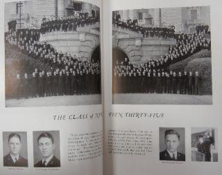 ORIGINAL 1934 LUCKY BAG   US NAVY ANNAPOLIS NAVAL ACADEMY CADET CLASS