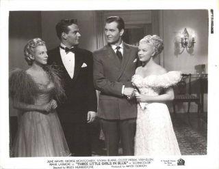June Haver Vivian Blaine G Montgomery in Three Little Girls in Blue