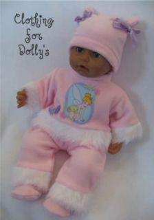 Baby Doll Clothes Outfit Fit Annabell Born 14 19 Tb1