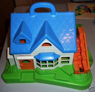 1990 Fisher Price Chunky Play House 2557