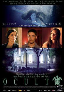 Oculto The Hidden DVD Leonardo Sbaraglia Angie Cepeda