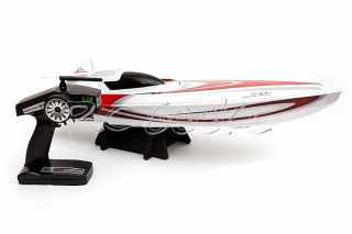 Ansmann Racing RC Radio Control The Pike Electric Brushless Speed Boat