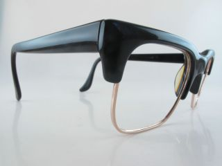 Vintage 60s eyeglasses frames CBM dark brown Mod CHAMPION made in