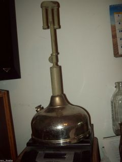Antique Coleman Quick Lite Gas Kerosene Oil Table Light Lantern Lamp