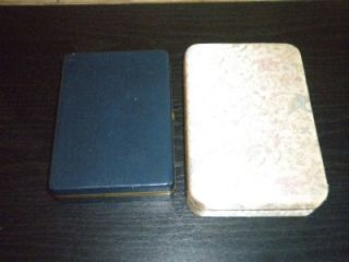 VINTAGE LOT OF 2 TRAVELING VELVET LINED JEWELRY BOXES VERY NICE