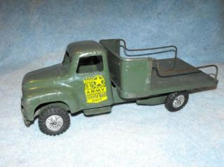 Antique Vintage Buddy L Army Military Searchlight Unit Toy Truck