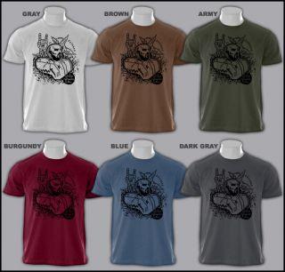Church of Satan Necronomicon 666 Anton lavey T Shirt