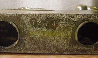 Vintage CAST METAL Lion BOOK ENDS Marked ANTONIO CANOVA 1757 1822